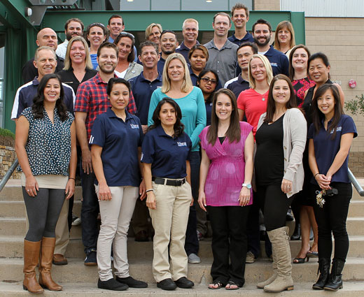 UCI Campus Recreation Staff Picture 2012