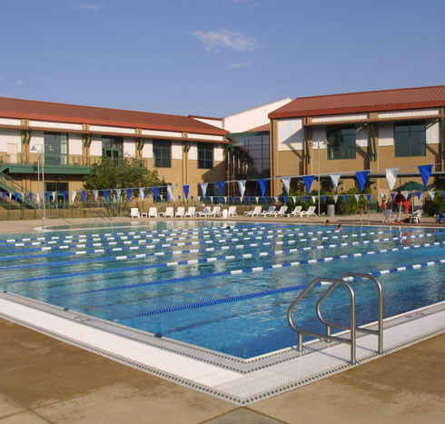 UCI Campus Recreation - Aquatics Plaza Picture