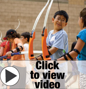 UCI Campus Recreation - Archery Summer Camp Picture