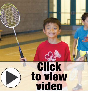 UCI Campus Recreation - Badminton Summer Camp Picture
