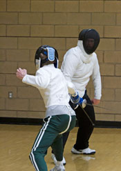 UCI Campus Recreation - Sport Classes - Fencing Class Picture