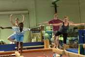 UCI Campus Recreation - Sport Classes - Gymnastics Class Picture