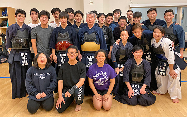 UCI Campus Recreation - Anteater Club Sports: MA - Kendo Picture