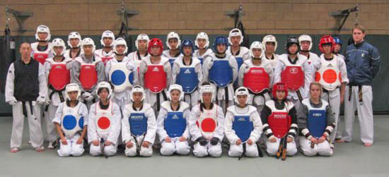 UCI Campus Recreation - Anteater Club Sports: MA - Taekwondo Picture