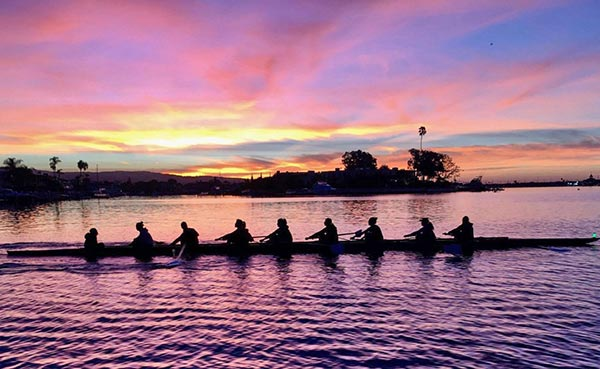 UCI Campus Recreation - Anteater Club Sports: Women's Rowing Picture