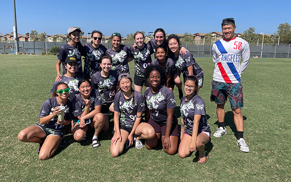 UCI Campus Recreation - Anteater Club Sports: Women's Ultimate Picture