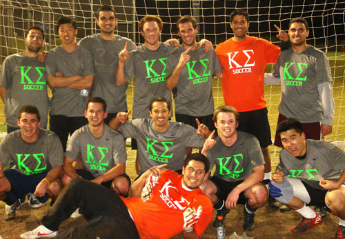 UCI Campus Recreation - IM Sports - IFC Soccer Champs 2012 Picture