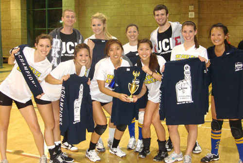 UCI Campus Recreation - IM Sports - Panhellenic Volleyball Champs 2012