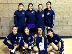 UCI Campus Recreation - IM Sports - Winter 2012 Women's Basketball Champs Picture