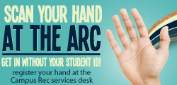 UCI Campus Recreation - Register your Hand at the ARC!
