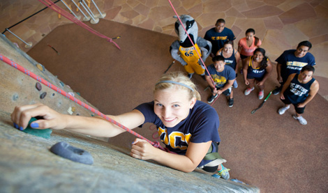 UCI Campus Recreation - Rock Wall Belaying Picture
